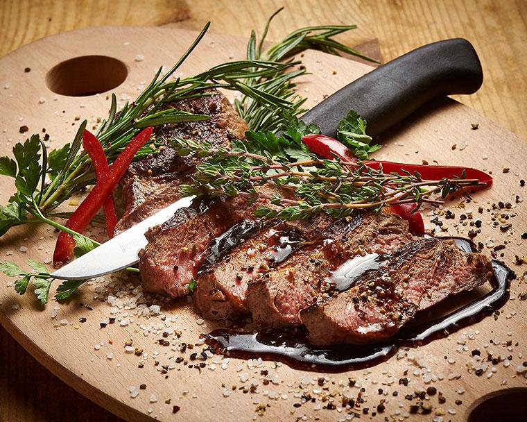 Leckeres Fleischgericht Ihres Restaurants Gäubodenhof in Straubing